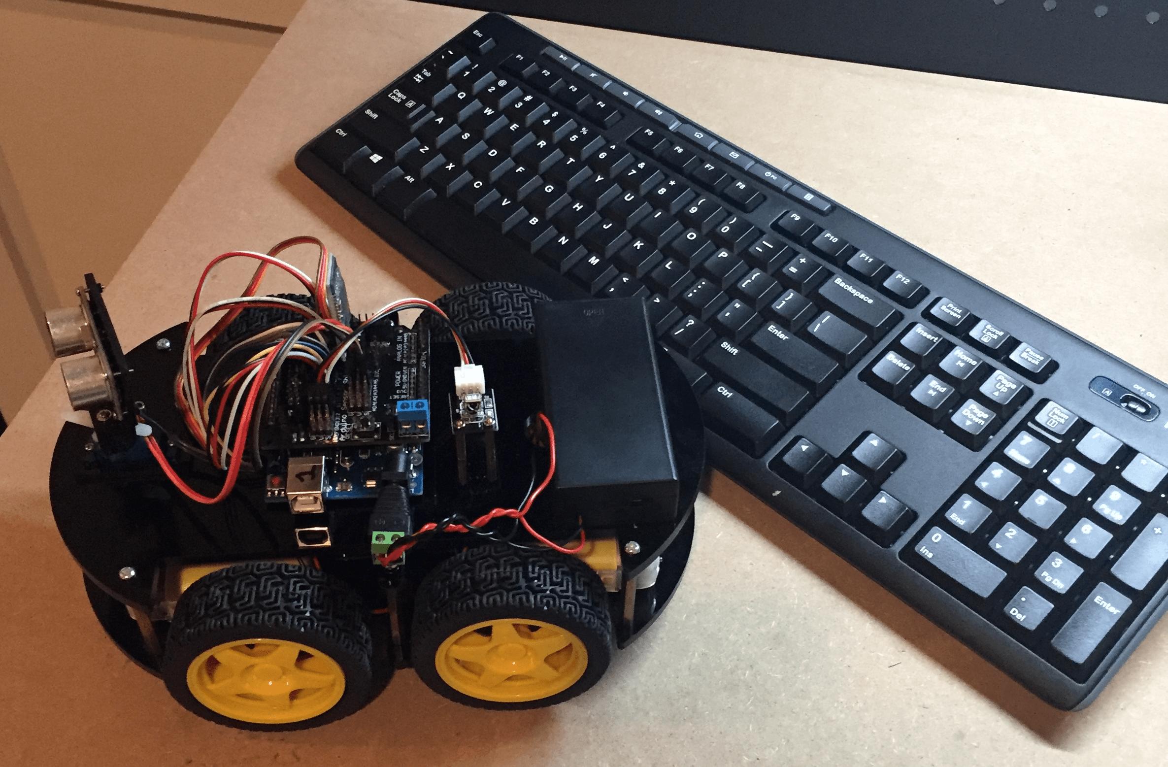 Control an Arduino Robot with a Bluetooth Keyboard