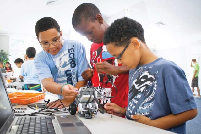 three ways to start robotics LEGO mindstorms