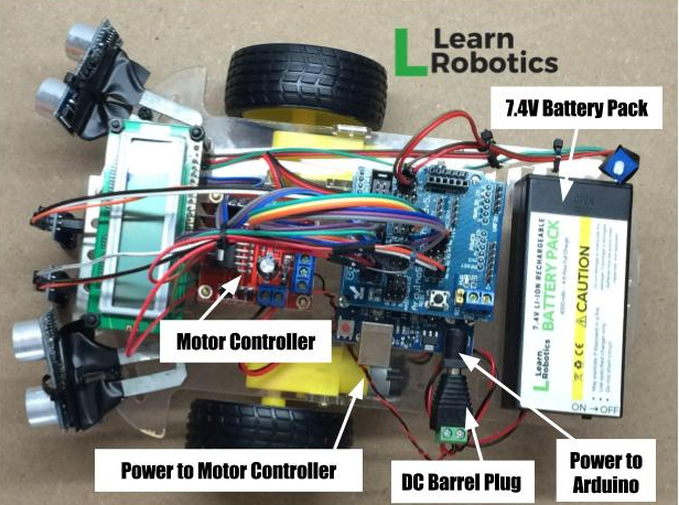How to Power Your Arduino Mobile Robot