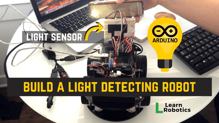 Light Following Arduino Robot using Photoresistors - Learn Robotics