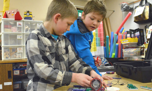 Circuits & Electronics Lessons for Grades K-4