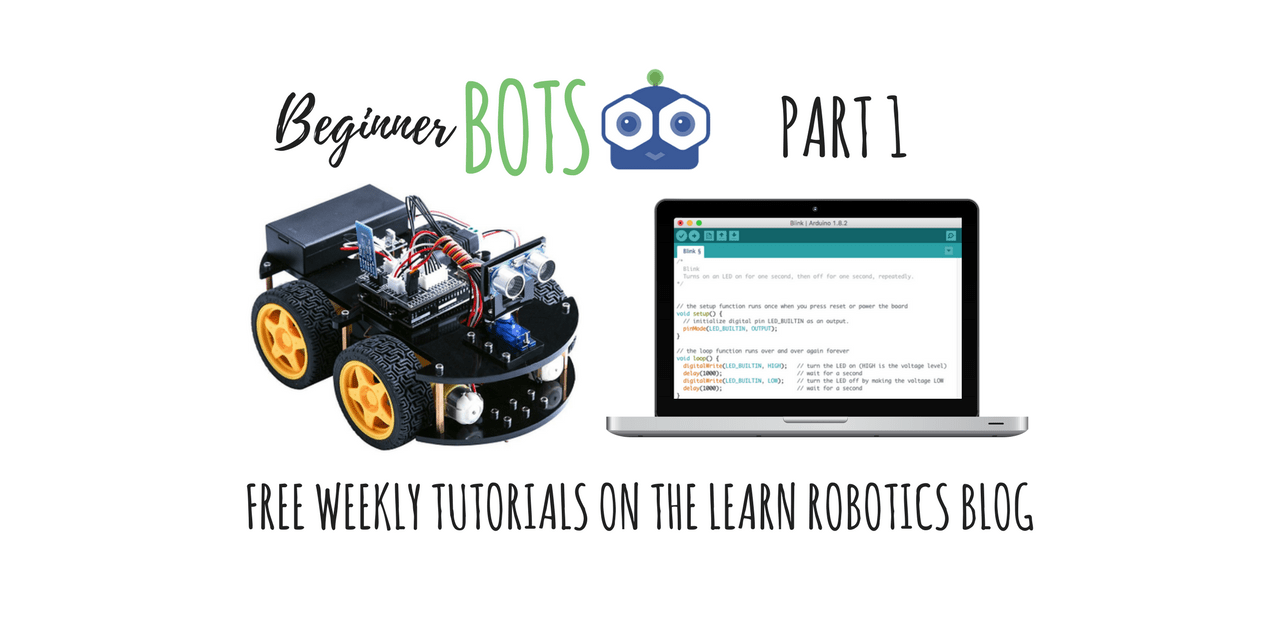How to Build a Mobile Robot Using Arduino | Part 1