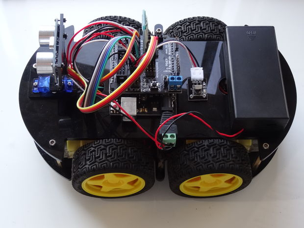 Build a Mobile Robot Using Arduino