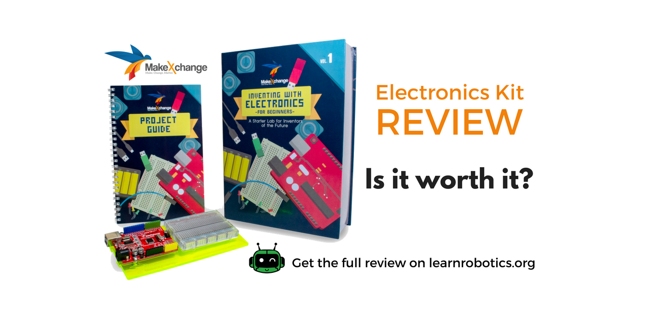 MakeXchange Inventing with Electronics Kit Review