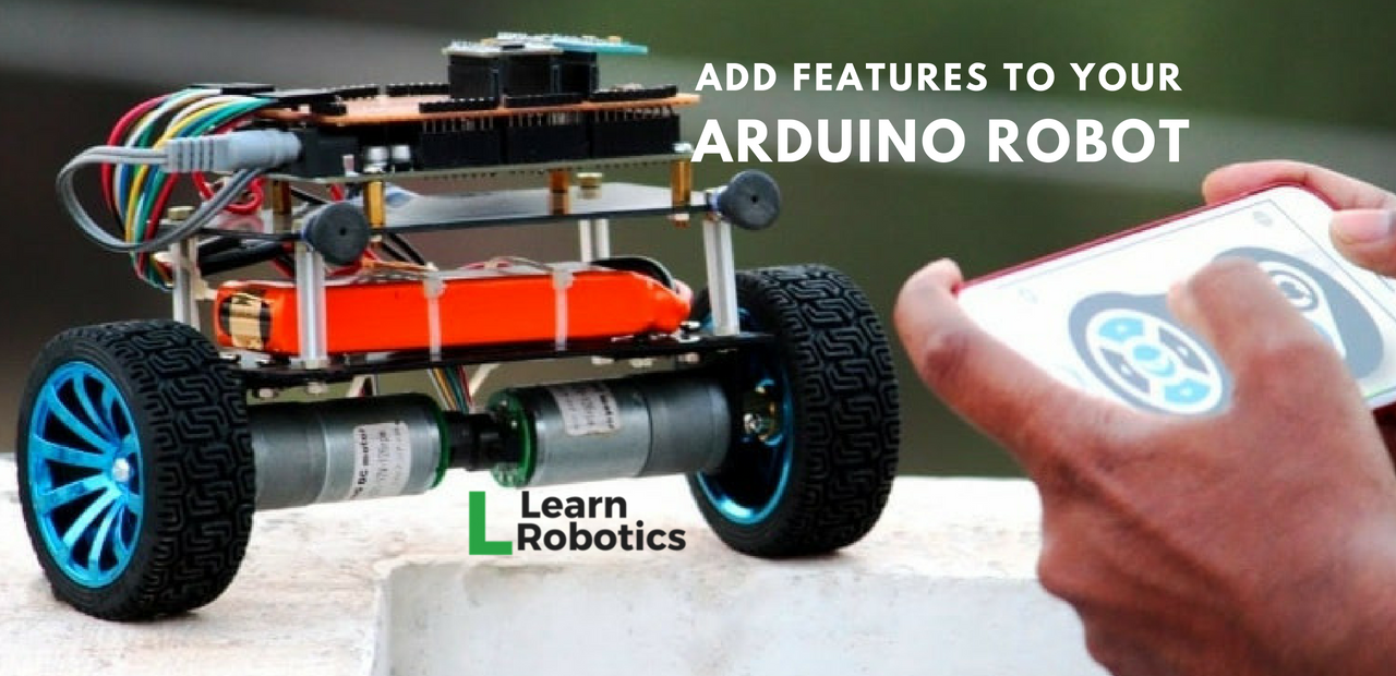 Intermediate Arduino Robot Projects