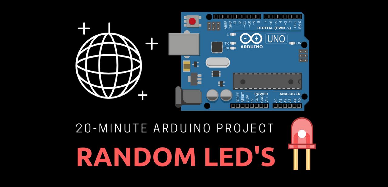 Random LEDs with Arduino Uno