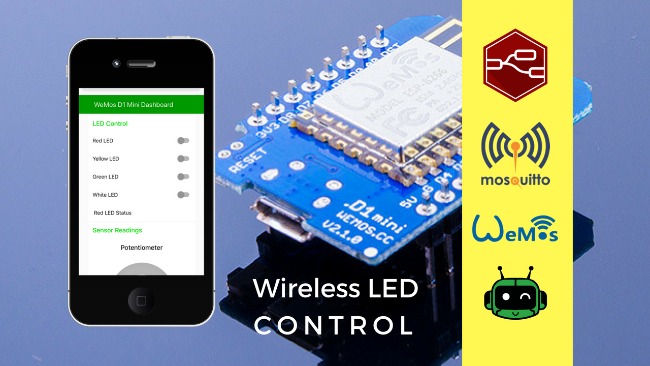 Configure Node-RED & Wemos D1 Mini