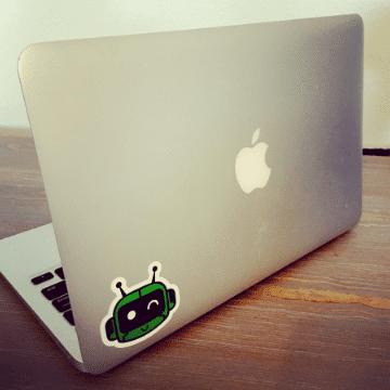 Learn Robotics Stickers