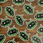Learn Robotics Stickers Botly