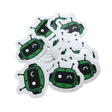 Robot Stickers Botly