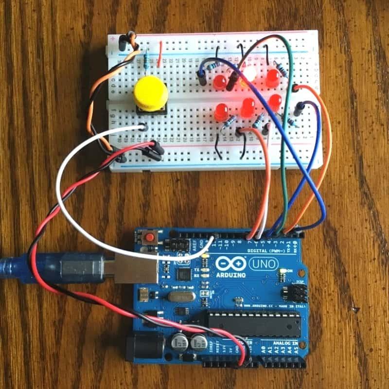 STEM Lesson Plans Arduino Dice