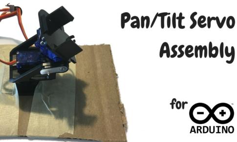 How to Assemble Pan/Tilt for Arduino Servos