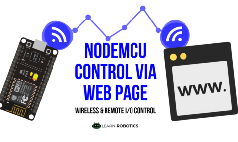 Control Devices using a Web Browser (NodeMCU)