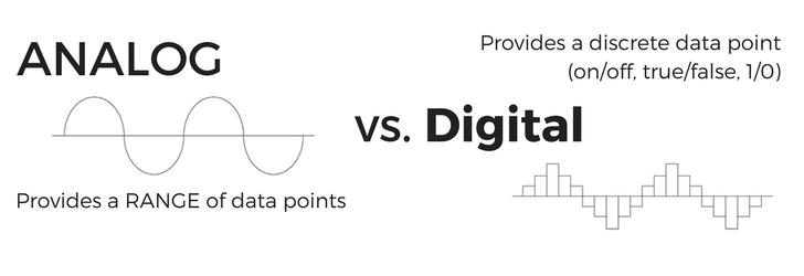 analog vs digital sensors