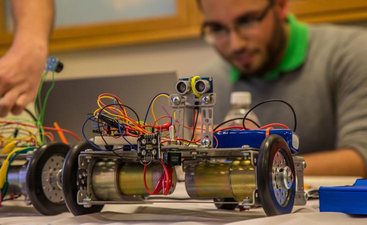 learn robotics high school project ideas