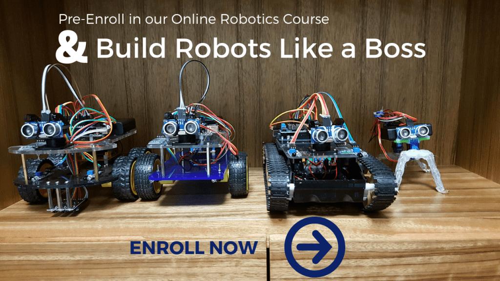Learn Robotics course