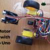 Arduino L298N motor code