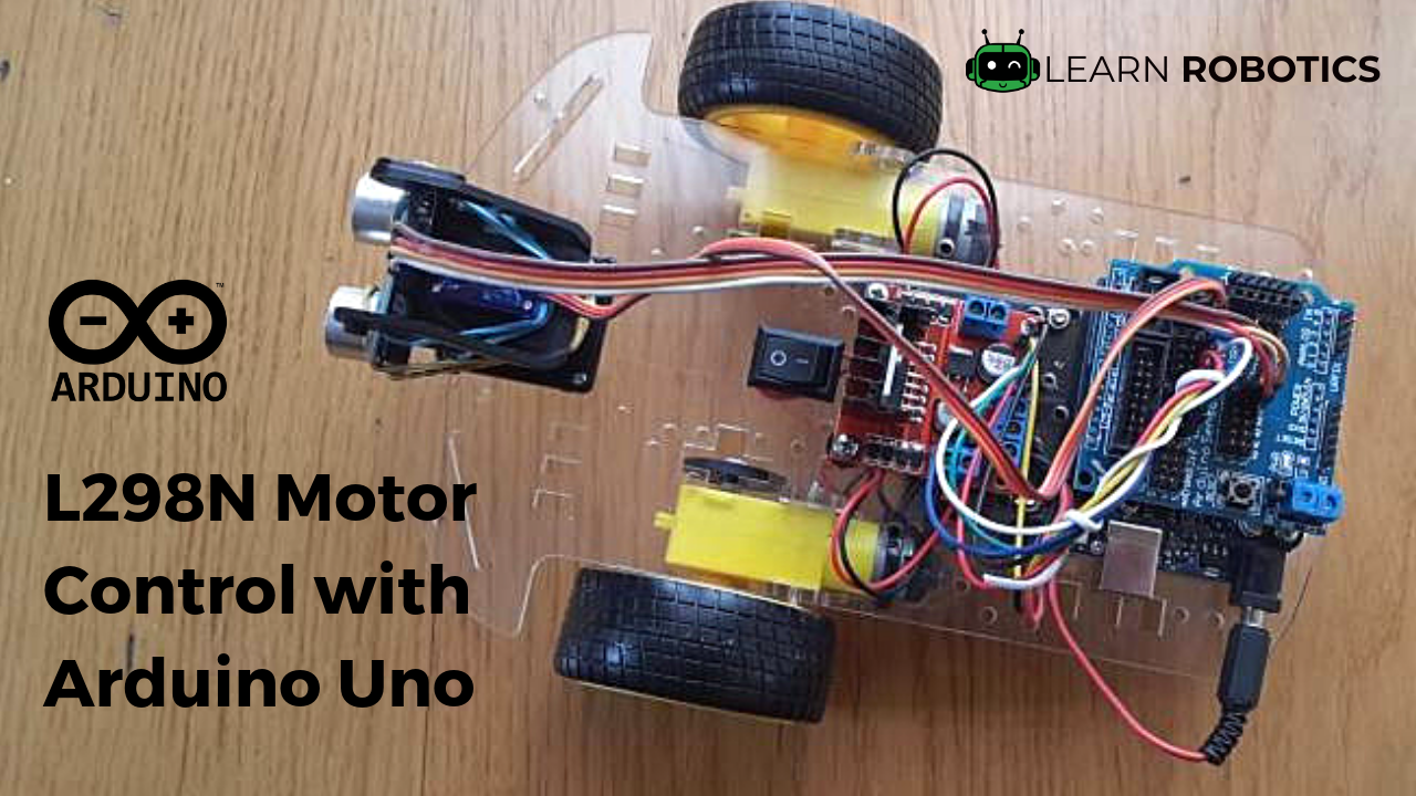 How to Program the L298N with Arduino