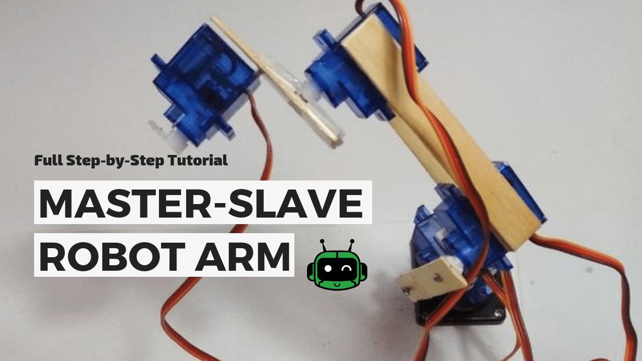 Simple & Smart Robotic Arm Using Arduino