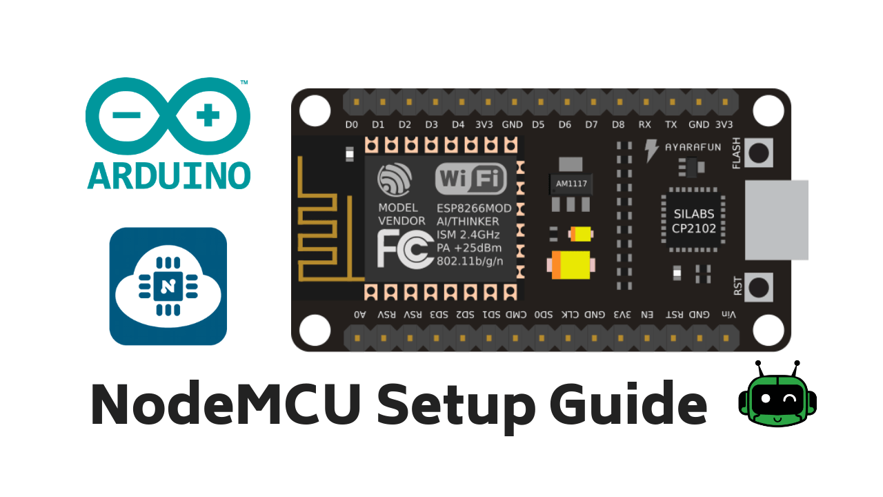 Getting Started With NodeMCU (ESP8266) Using Arduino IDE