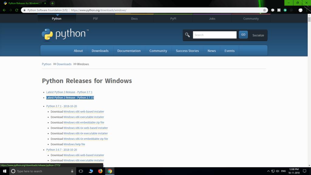 Arduino Python