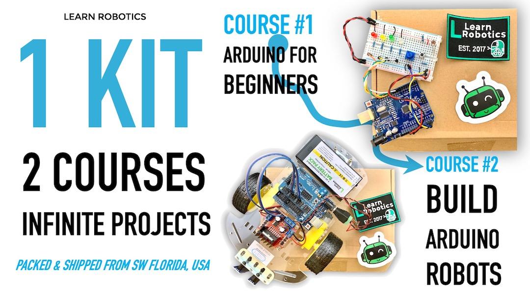 Learn Robotics Alpha Kit Banner
