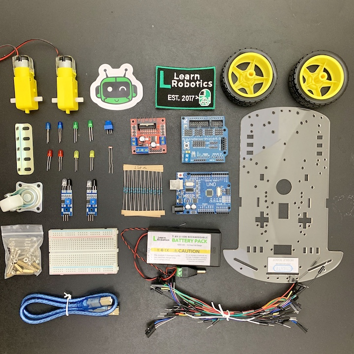 Learn Robotics Kit Alpha online learning for students