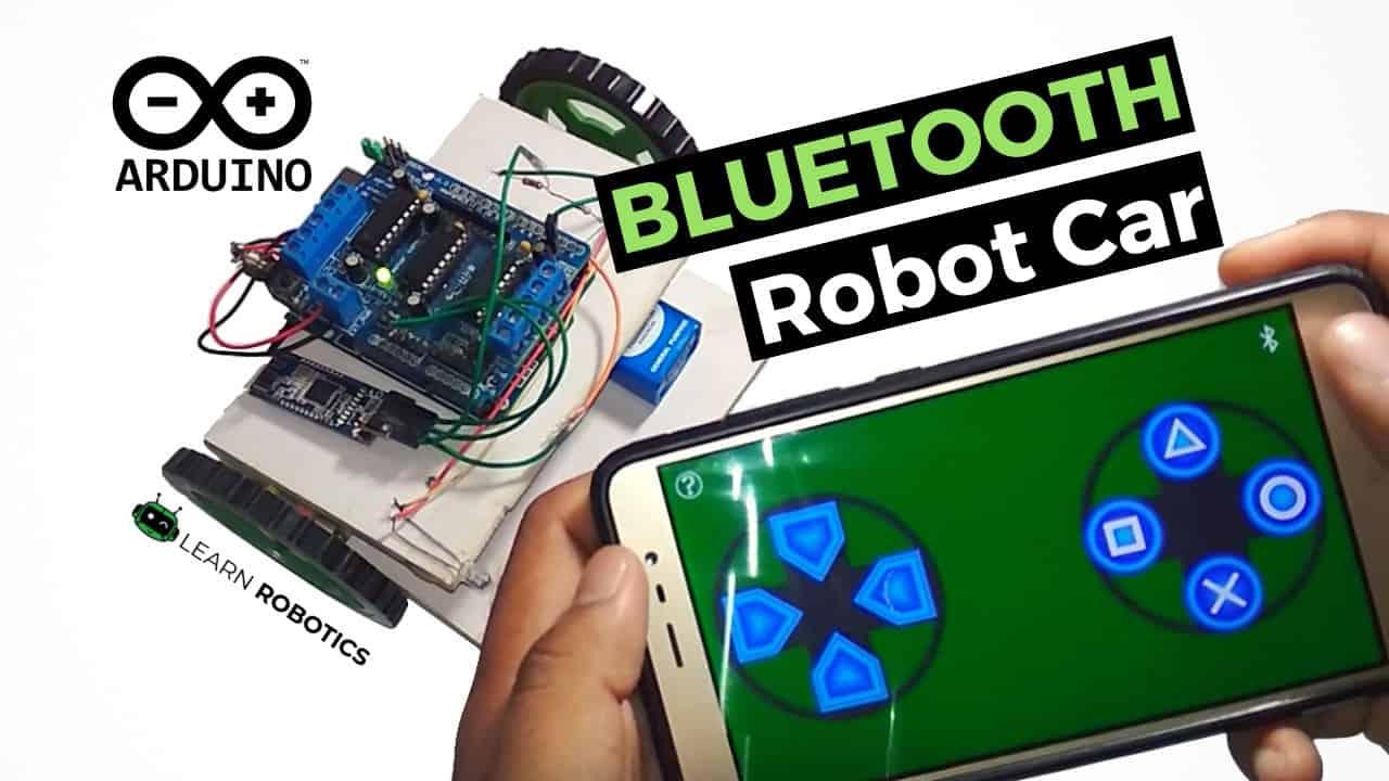 Arduino Bluetooth Car (Smartphone Controlled)
