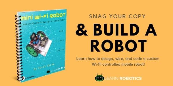 NodeMCU Wifi Robot