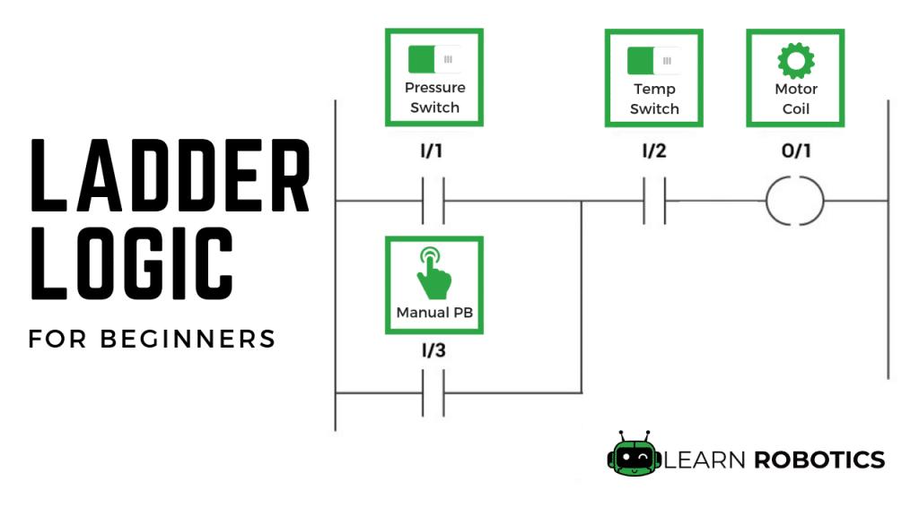 Plc Programming Basics Using Ladder Logic Learn Robotics