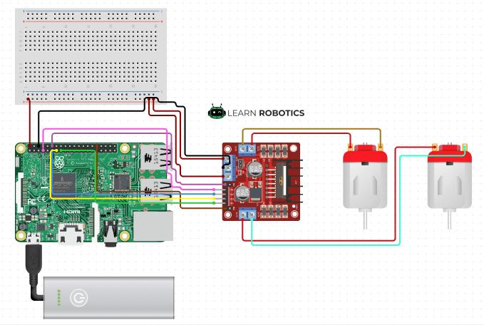 Motor Controller Raspberry Pi & Arduino Configurations ... on
