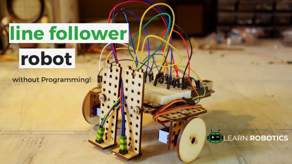 How to Build a Robot Line Follower without a Controller