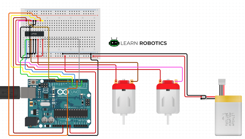 Motor Controller Raspberry Pi  U0026 Arduino Configurations