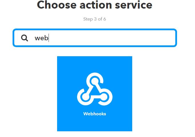 IFTTT Webhooks ESP8266