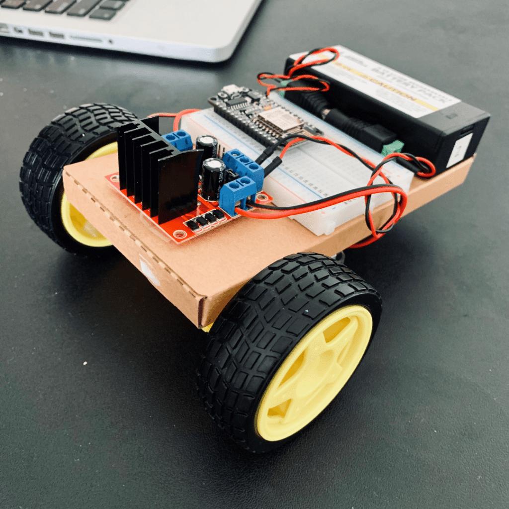 NodeMCU Motor Controller Mobile Robot