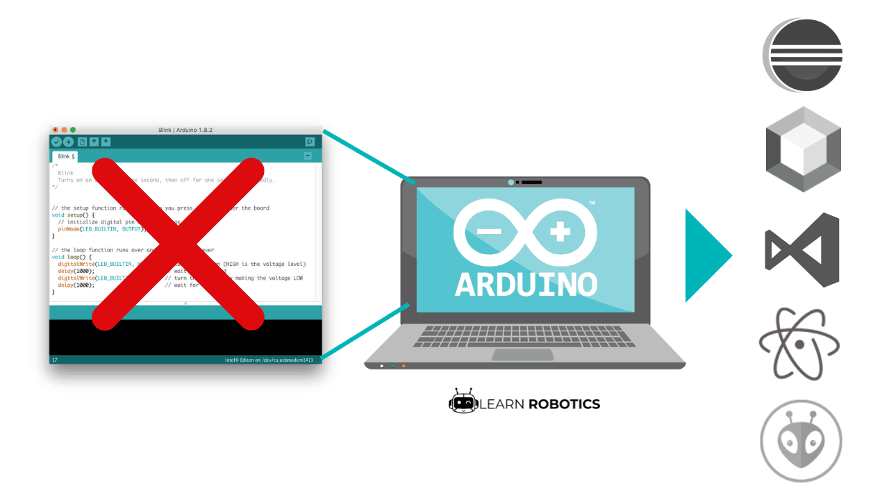 Forget the Arduino IDE: 5 Awesome Alternatives