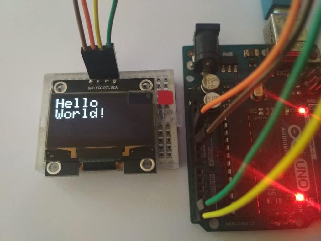 Arduino OLED Hello World