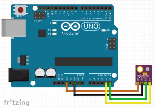 bme280 arduino fritzing diagram