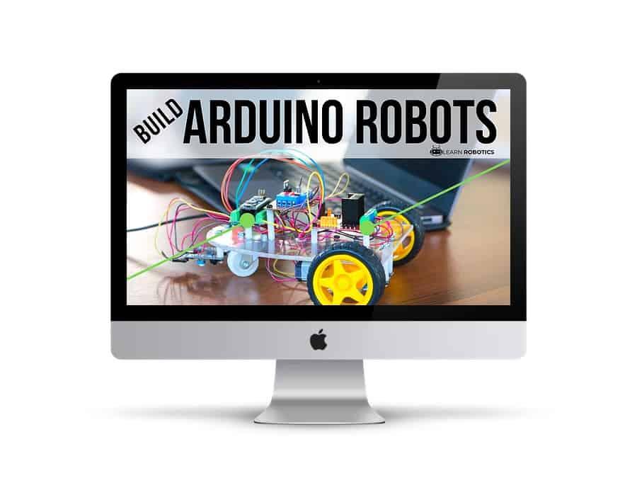 build arduino robots course