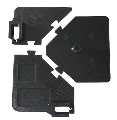 puzzle piece snap fit connector fusion 360