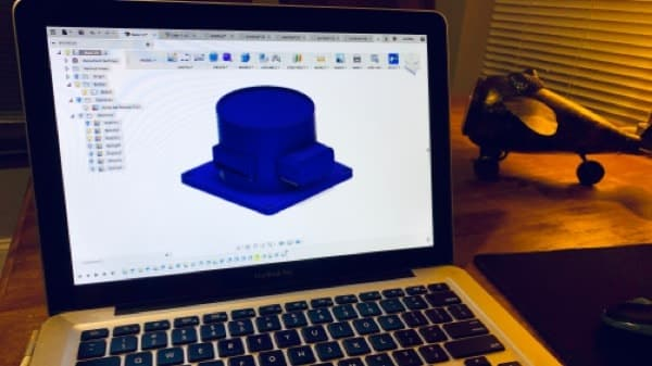 Fusion 360 on MacBook Pro