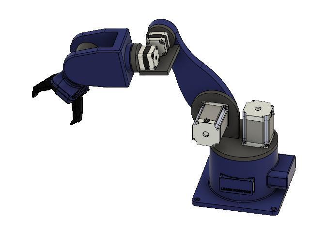 robot arm 3D cad model