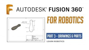 Fusion 360 drawing tutorial