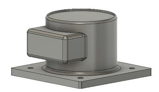 Robot Base in Fusion 360