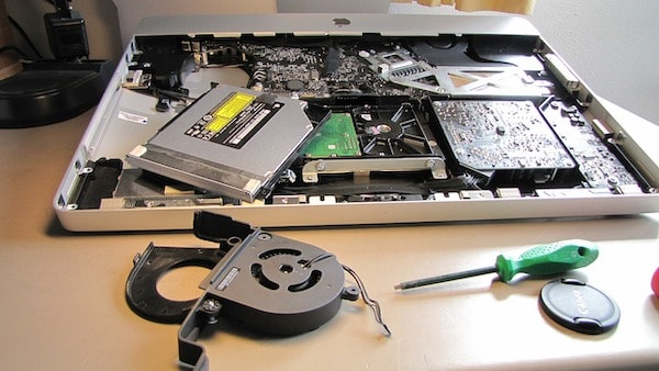 broken macbook pro upgrade