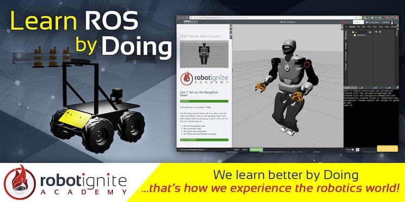 Learn to code with ROS