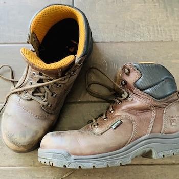 best women's work boots tiberland titan