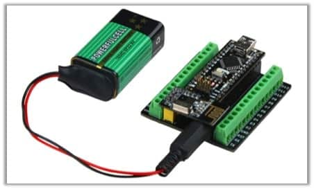 9v to Arduino nano