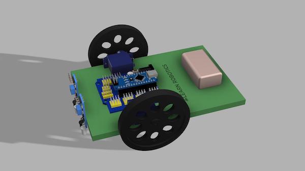 DIY robot tutorial with Arduino