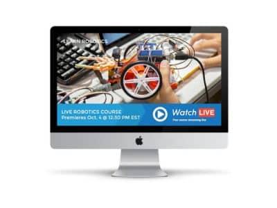 live online robotics course